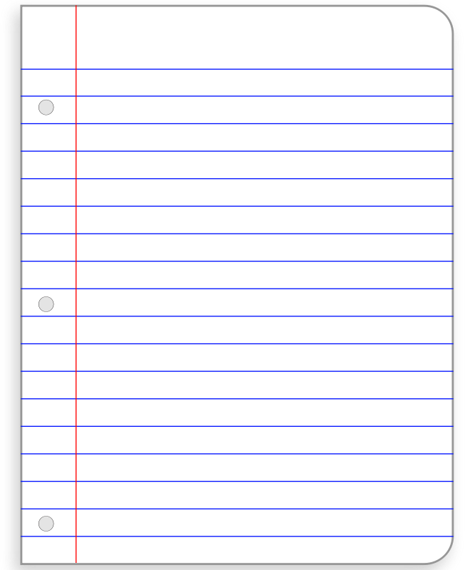 Printable Notebook Paper   9+ Free PDF Documents Download | Free