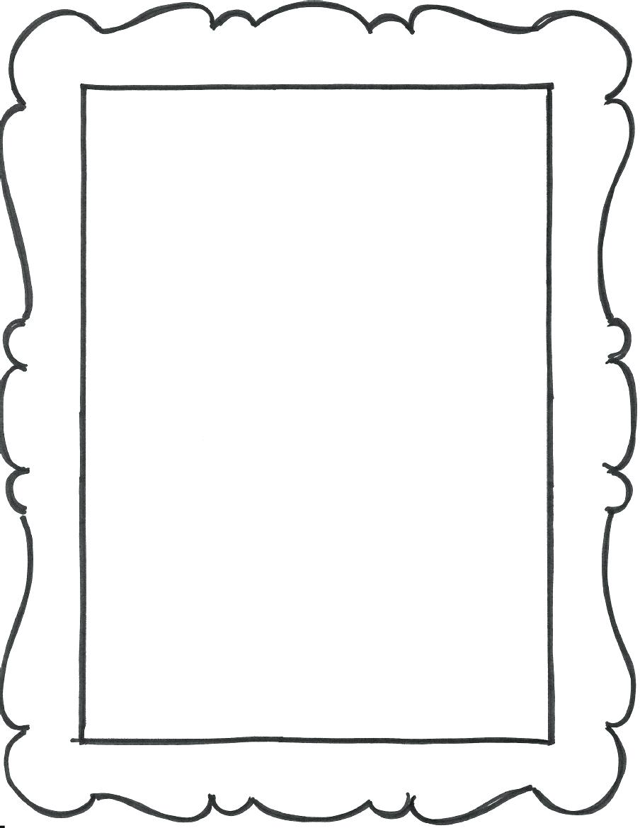 graphic relating to Printable Photo Frame referred to as Printable Photograph Body place
