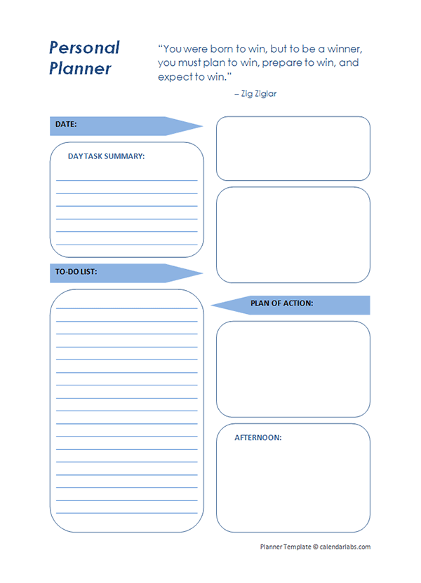 planner template   Yelom.agdiffusion.com