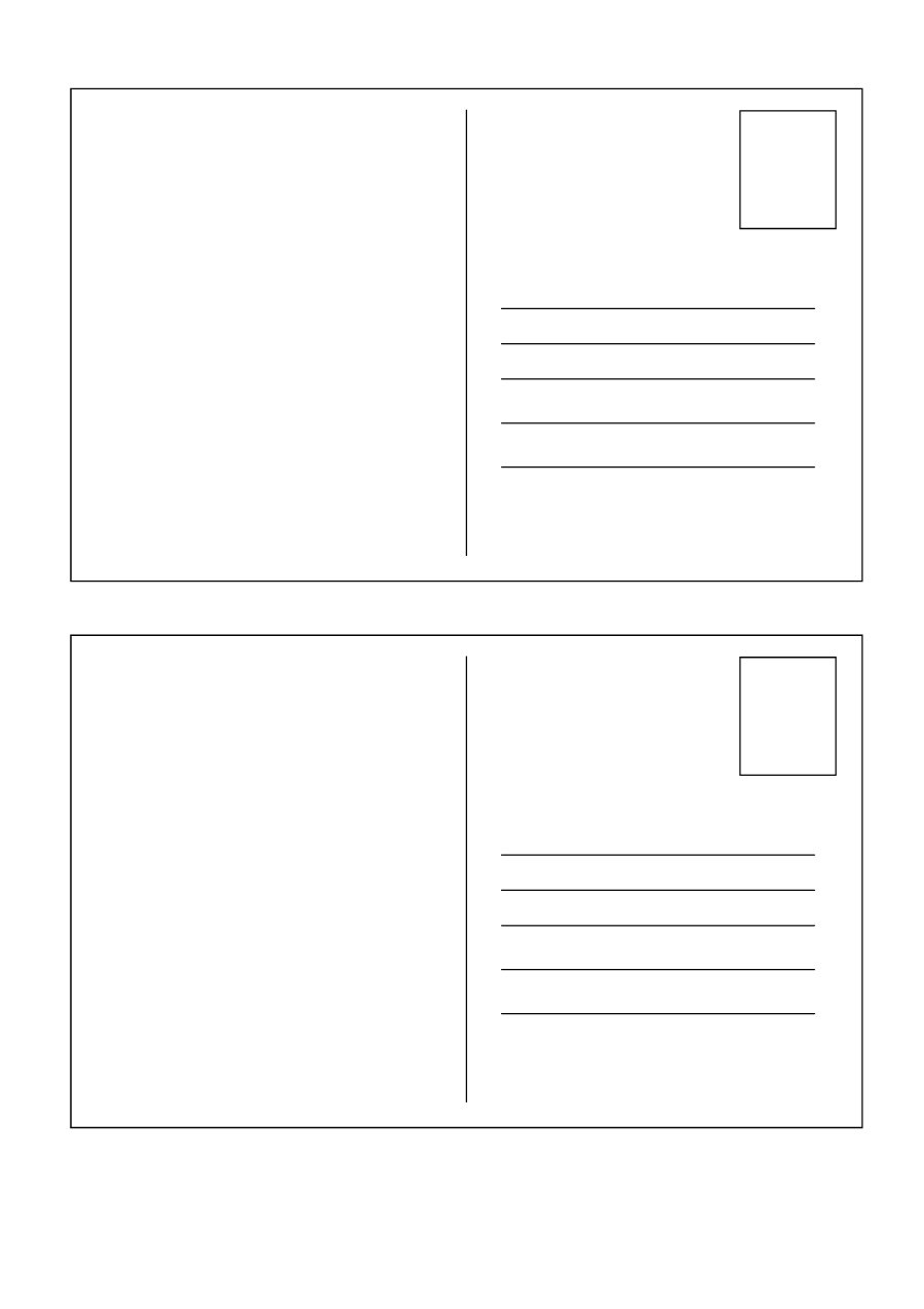 postcard free template printable   zrom.tk
