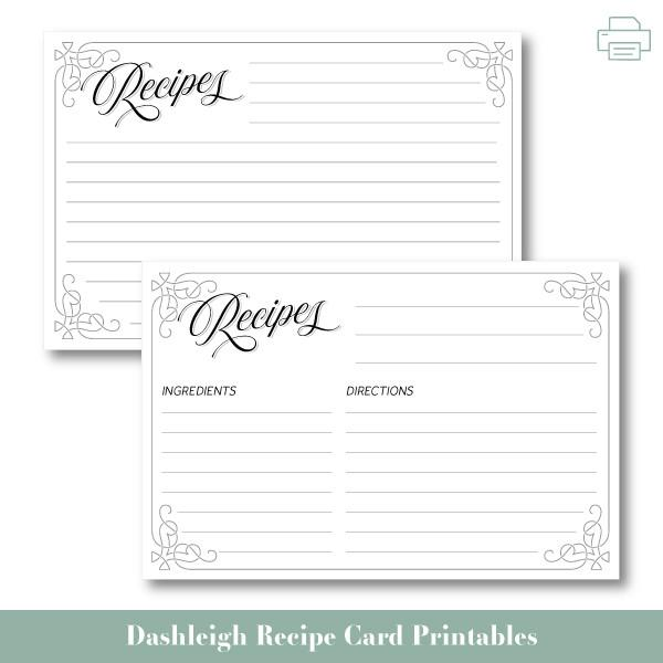alenka's printables recipe cards Archives   HashTag Bg