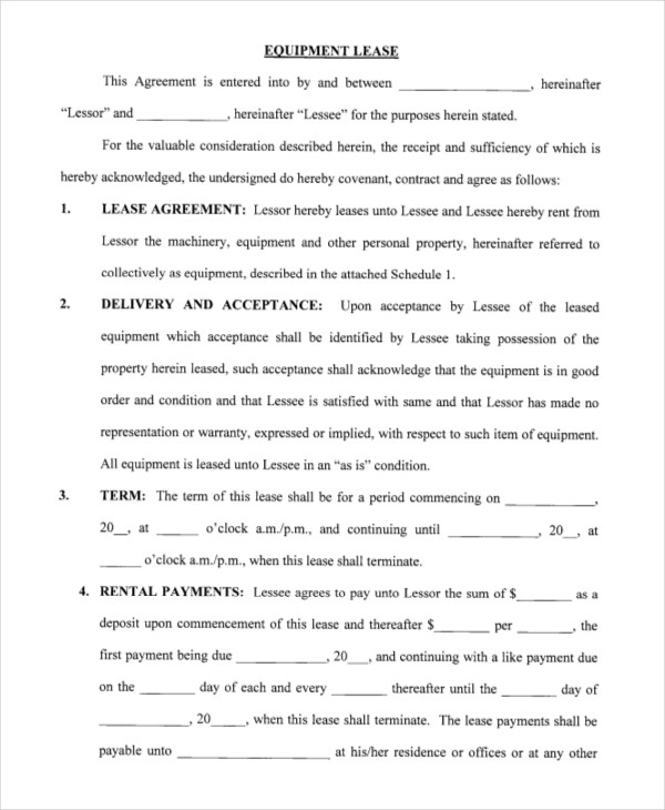 Printable Blank Lease Agreement Form 15 Free Word Pdf Printable