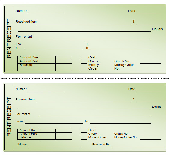 printable receipts for rent   Yelom.agdiffusion.com