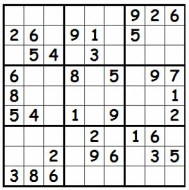 Medium Difficulty Sudoku Puzzles for Kids   Free Printable Worksheets