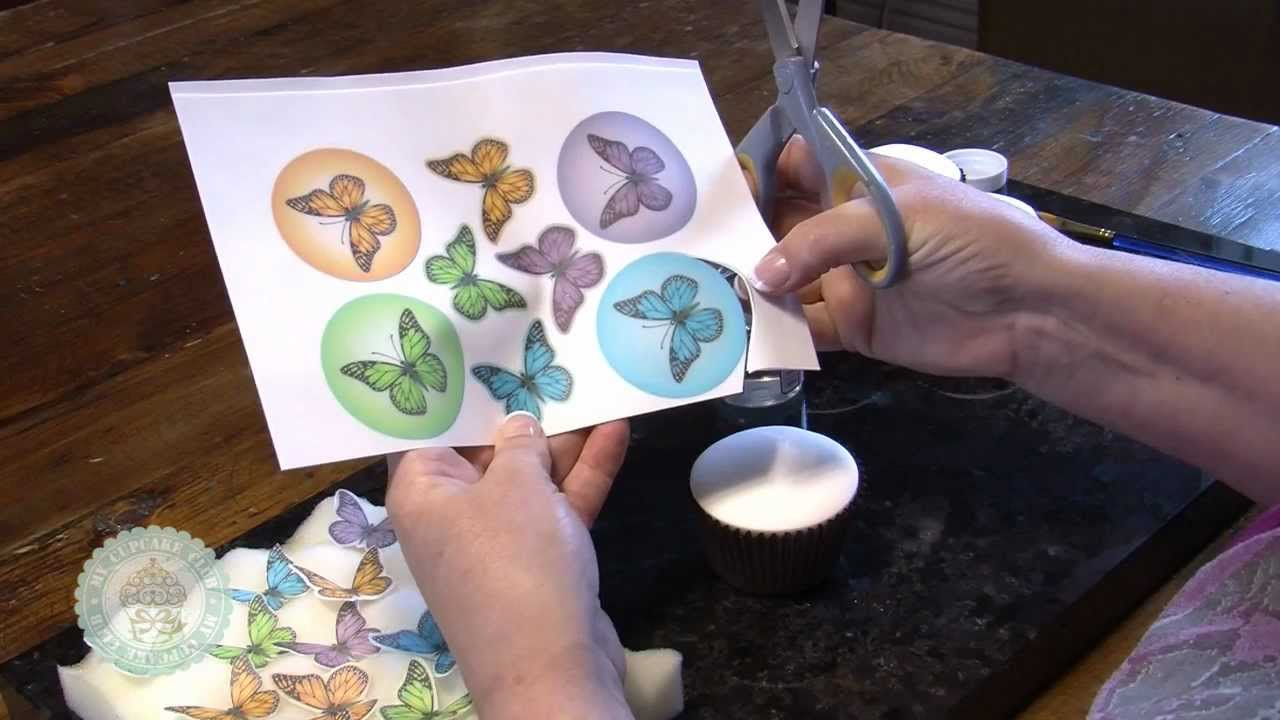Issue 5 Video 1: Using Printed Sugar Sheets   YouTube