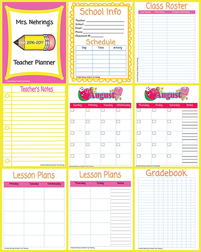 Printable Teacher Planner | Scholastic