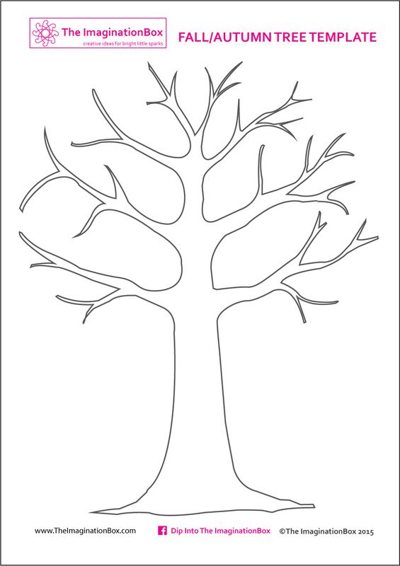 Tree | Printable Templates & Coloring Pages | FirstPalette.com