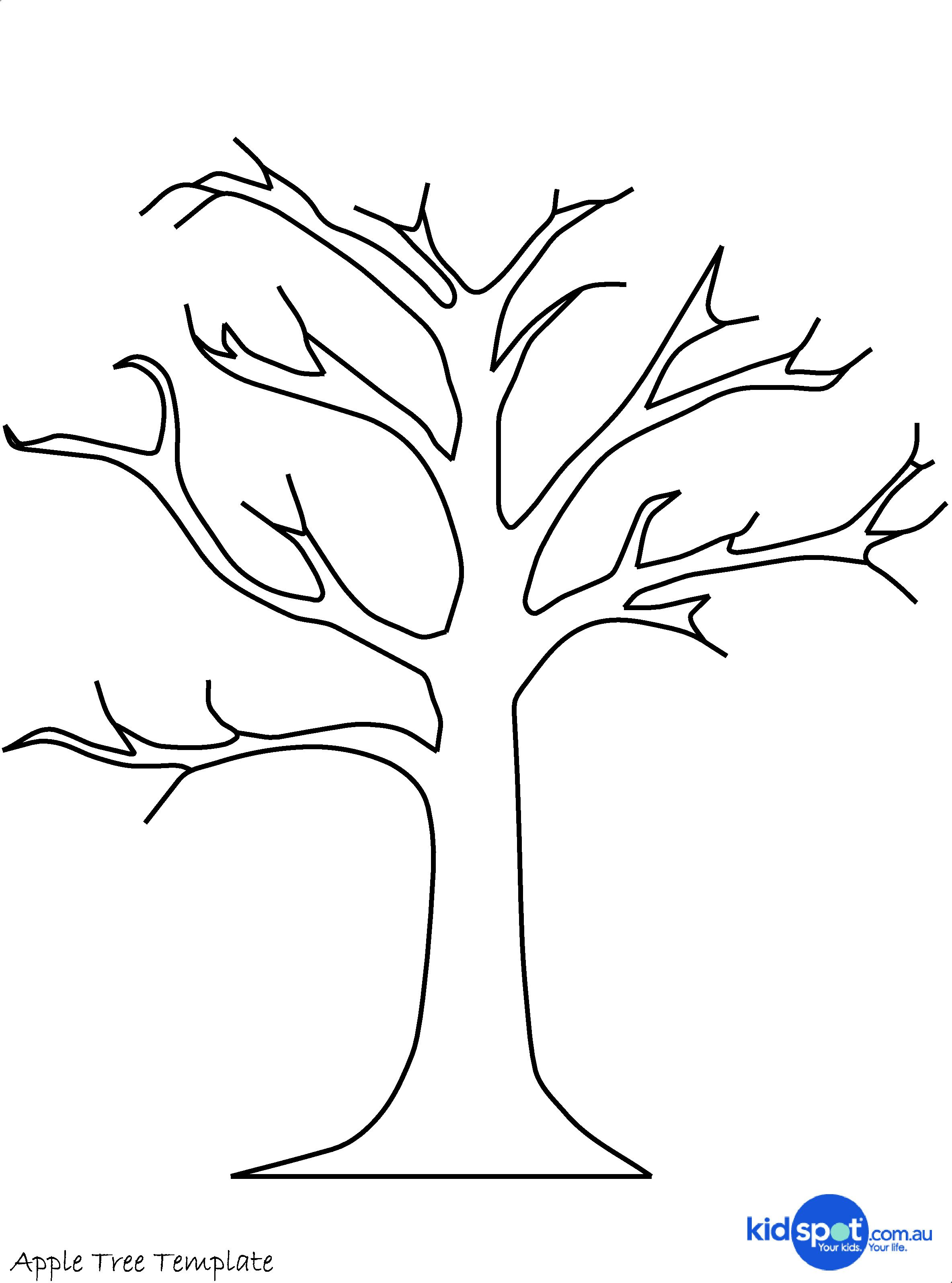 Tree craft: cork stamp apple tree | Clip Art | Pinterest | Tree