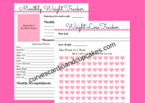 printable weight loss tracker free weight loss tracker