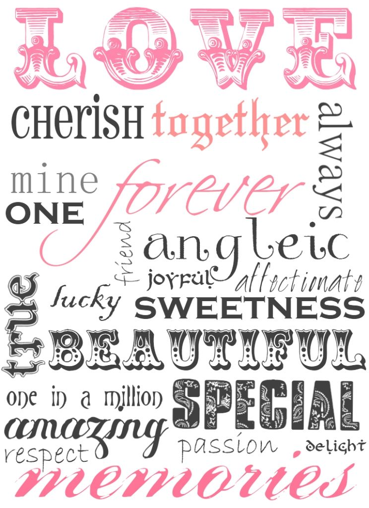 Top 15 Snazzy scrapbook words printable   Must check it!   6 best