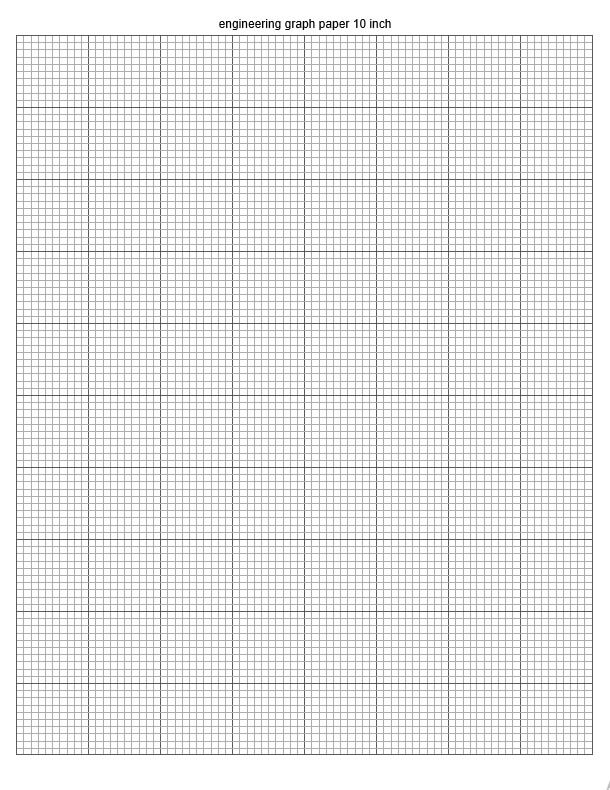 engineering graph paper 10 inch