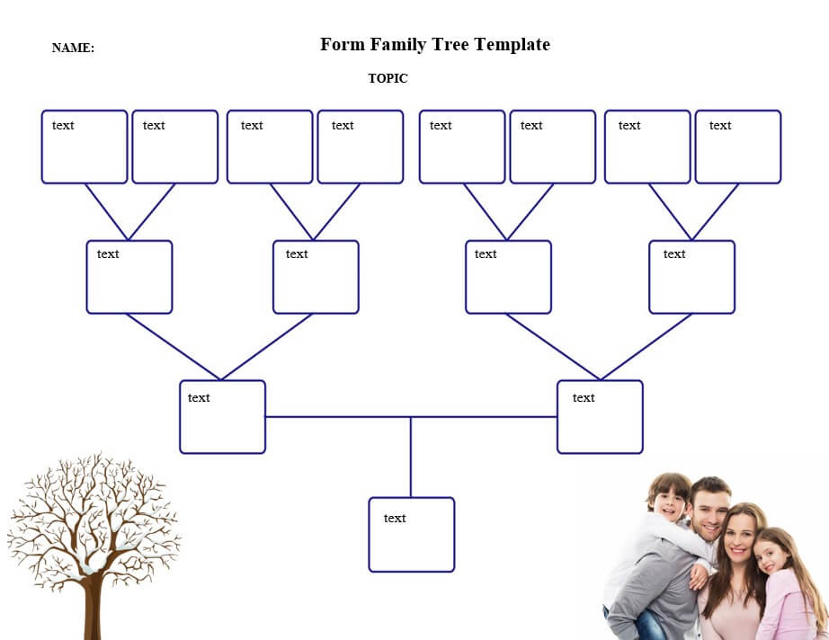 Form Family Tree Template