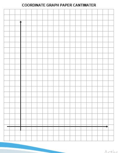 coordinate graph paper cantimater