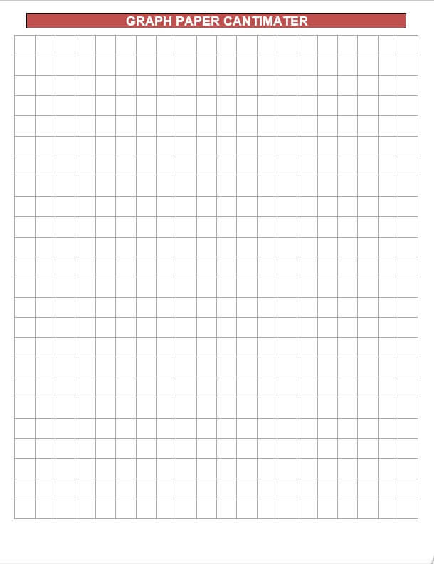 graph paper cantimater