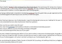 Sample How to Create a Fundraising Plan