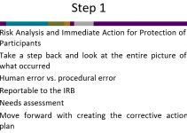 Sample Corrective Action Plan Guidelines