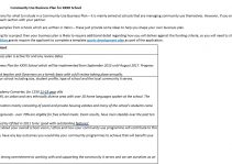 Sample community use business plan template