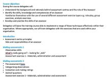 Templates Training Course Outline Sample