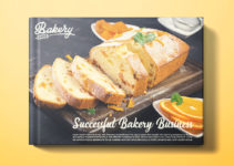 Bakery Book Cover Template Example
