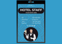 Hotel ID Card Template Example