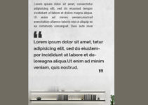 PSD Template For Architecture Rack Card