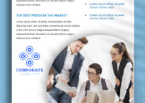 PSD Template For Corporate Data Sheet