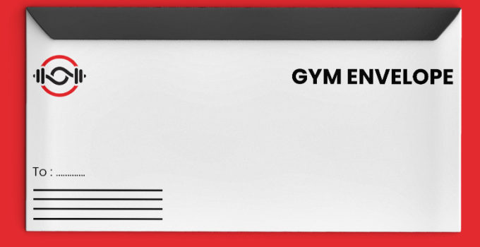 PSD Template For GYM Envelope