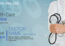 PSD Template For Healthcare Banner