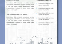 Real Estate Data Sheet Template Example