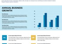 Business Report Free Download PSD