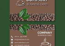 business card design templates Free Template in PSD