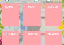 grocery list Free Download PSD