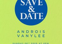save the date Free Download PSD
