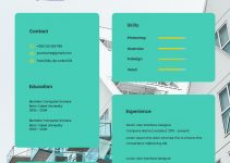architect resume sample in photoshop free download