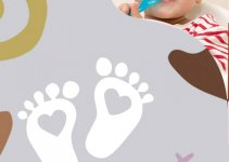baby announcement template in photoshop free download