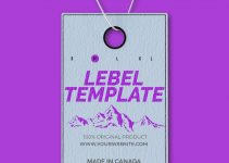lebel template in photoshop