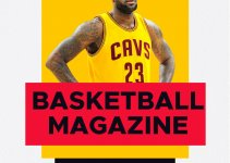 basketball magazine template in photoshop