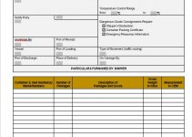 bill of lading template in word free download