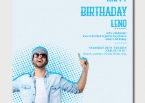 birthday flayers template free download psd