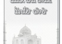 black and white binder cover in photoshop free download