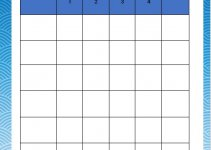 blank rubric template in word free download