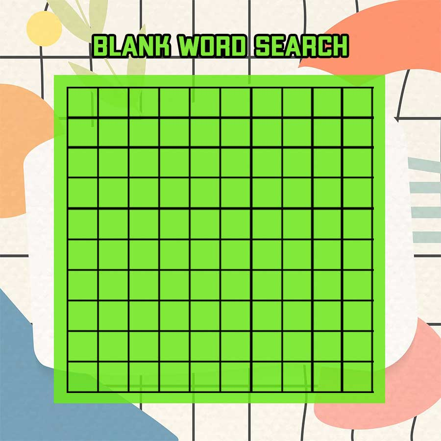 25+ Printable Blank Word Search template photoshop  room surf.com Inside Blank Word Search Template Free