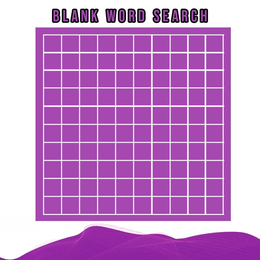 25+ Printable Blank Word Search template photoshop  room surf.com Within Blank Word Search Template Free