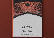 bookplate template free download psd