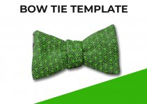 bow tie template template free psd