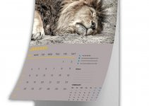 calender mockup template template free psd