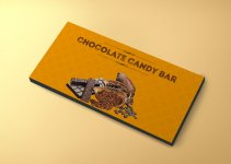 candy bar wrapper template free download psd