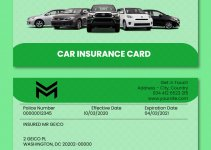 car insurance card template free download psd