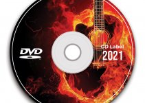 cd label template in photoshop free download