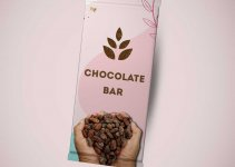 chocolate bar wrapper template in photoshop free download